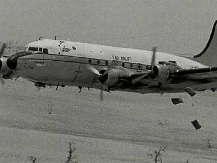 هواپیما عکس سیاه و سفید